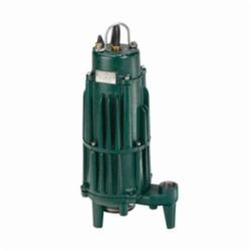Zoeller® The Shark® E840 Double Seal Grinder Pump, 45 gpm, 1-1/4 in NPT Outlet, 2 hp, Cast Iron