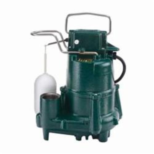 Zoeller® Flow-Mate 98 Single Phase Single Seal Submersible Pump, 72 gpm, 1-1/2 in NPT Outlet, 1/2 hp, Cast Iron