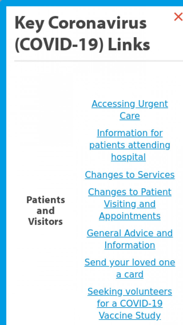 Mobile screenshot of University Hospitals Plymouth NHS Trust website