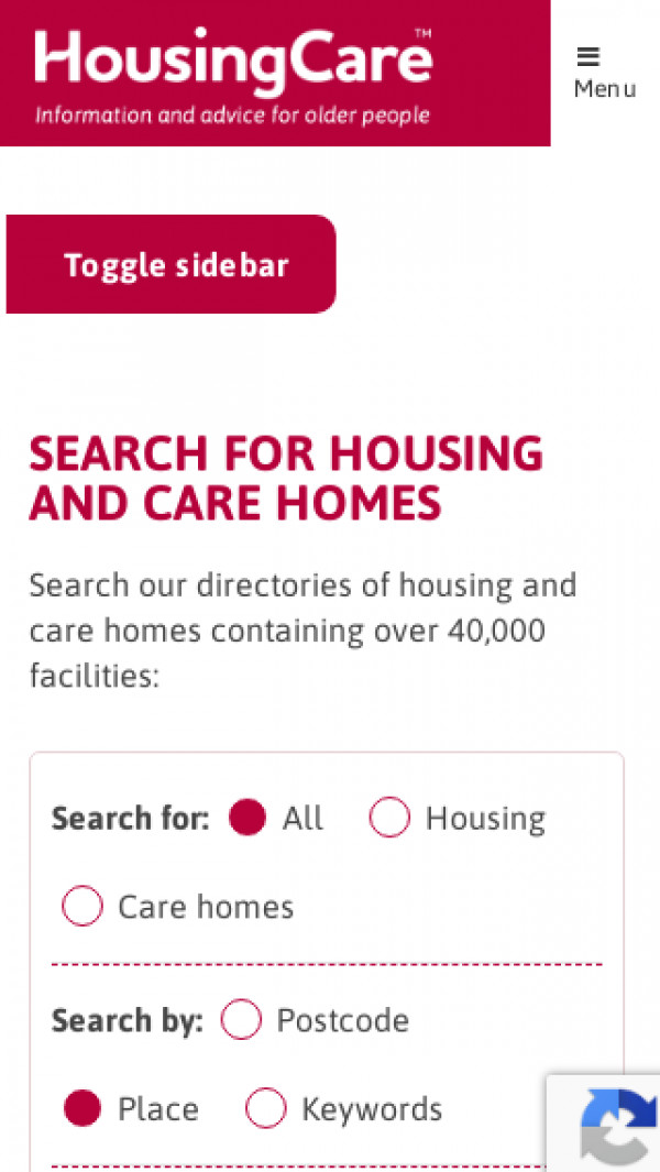 Mobile screenshot of Whitworth Housing Co-operative Limited website