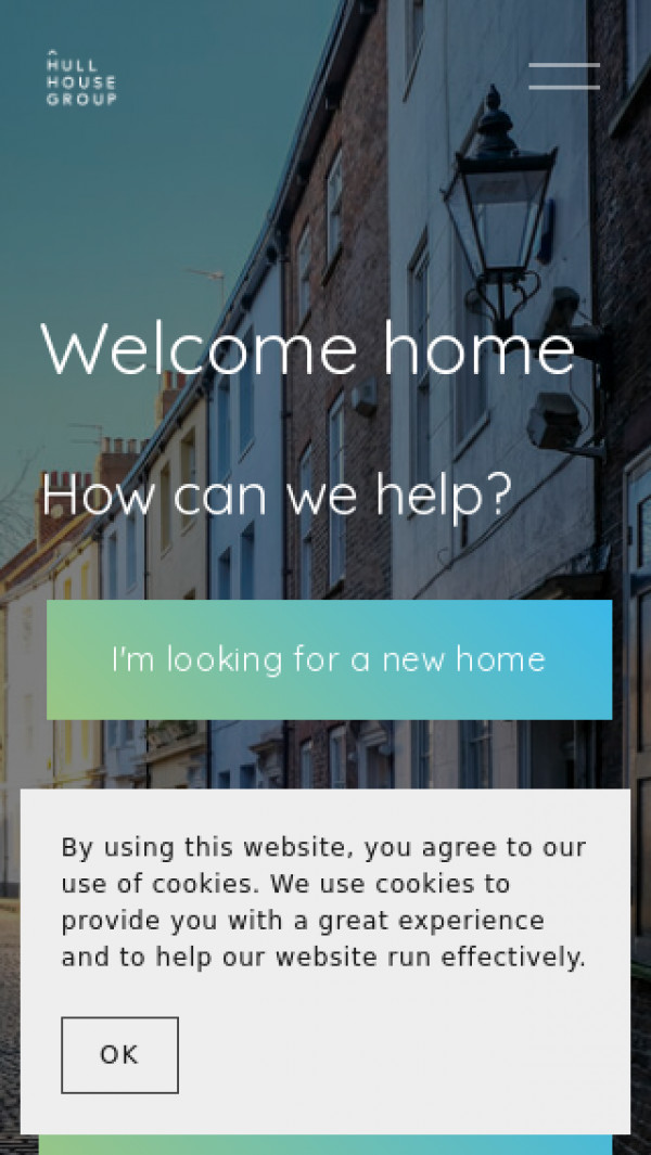 Mobile screenshot of Hull House Improvement Society Limited website