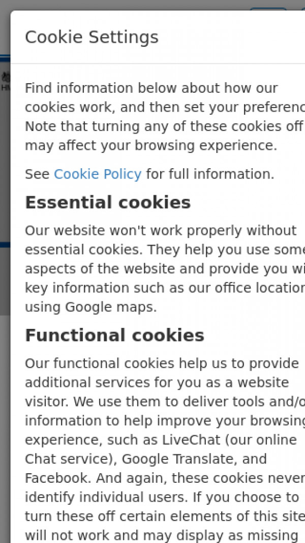 Mobile screenshot of Arches Housing Limited website