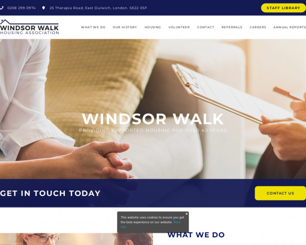 Screenshot of Windsor Walk – Providing Supported Housing For Over 40 Years