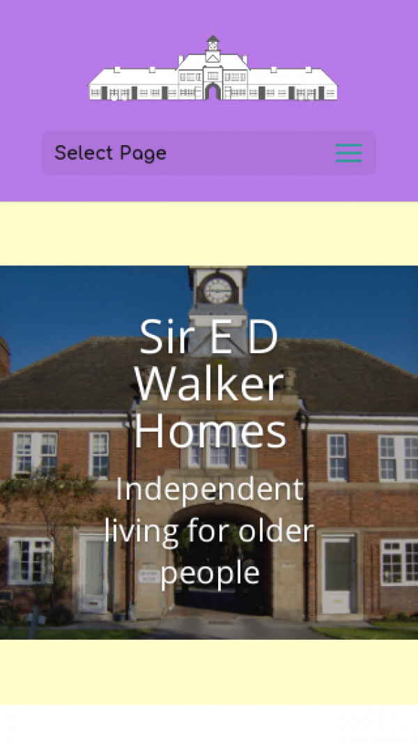 Screenshot of Sir E D Walker Homes | Sir E D Walker Homes