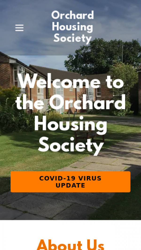 Mobile screenshot of Orchard Housing Society Limited website