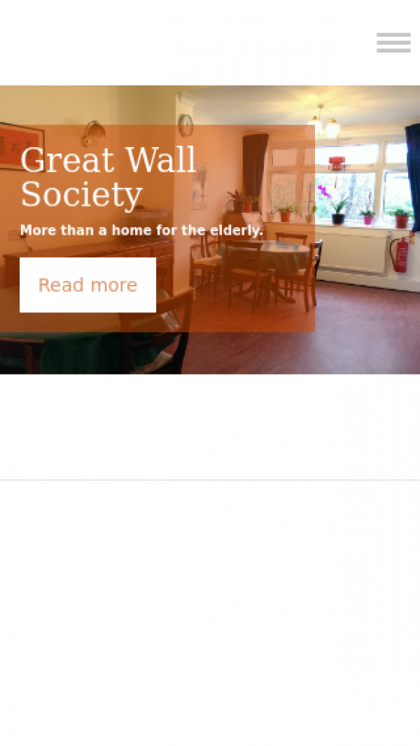 Mobile screenshot of Great Wall Society Limited website