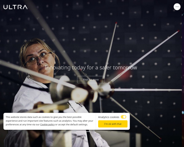 Screenshot of Ultra | Mission Critical Systems