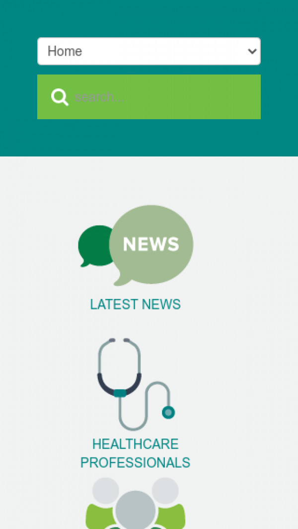 Mobile screenshot of NHS Castle Point and Rochford CCG website