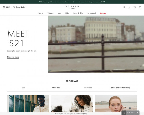 Screenshot of Edited   Style & Fashion Guides, Trends & Inspiration   Ted Baker UK