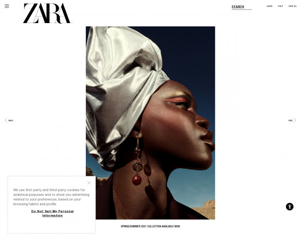 Screenshot of ZARA United States | New Collection Online