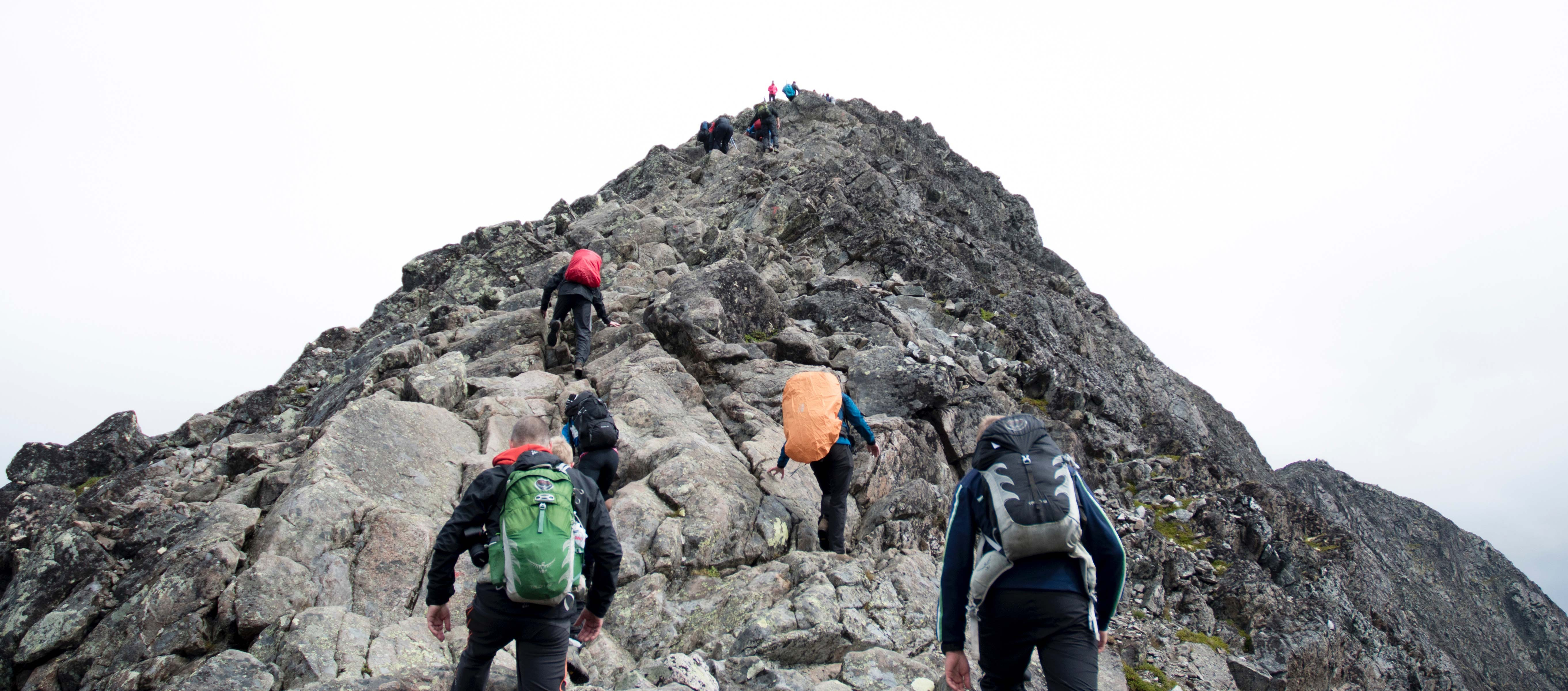 Climbing the Mountain   Effective Leadership