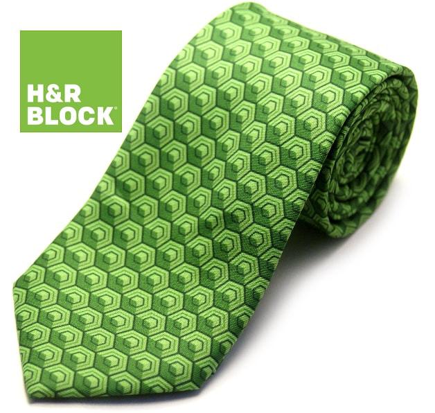 H&R Block Tie