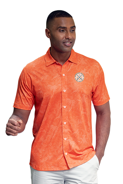 Men's Orange Maui Shirt