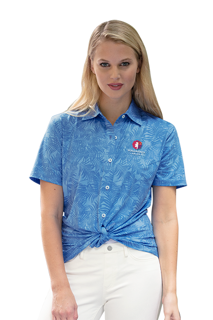 Blue Women's Maui Shirt