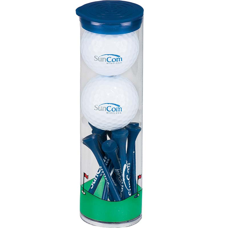 SunCom Blue Balls and Tees Tube