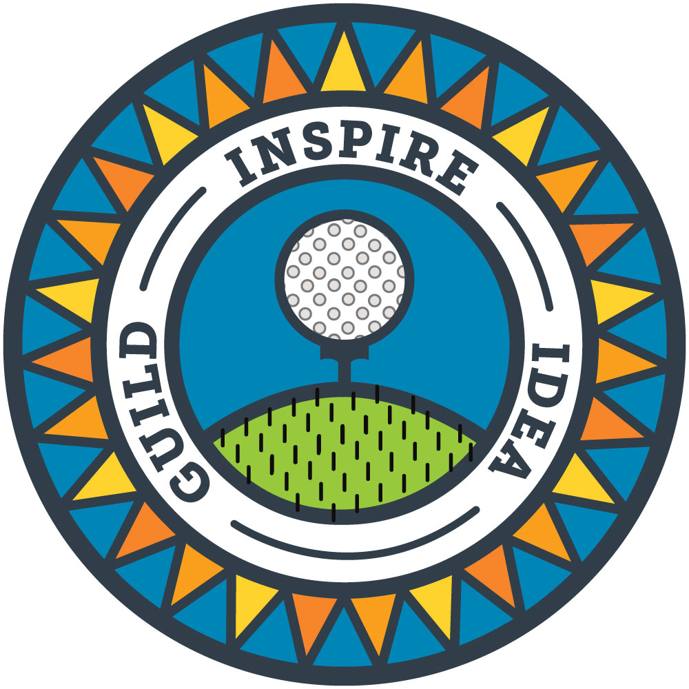 Idea Guild Badge Golf