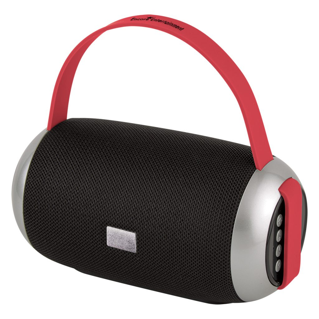 Jam Sesh Red Wireless Speaker