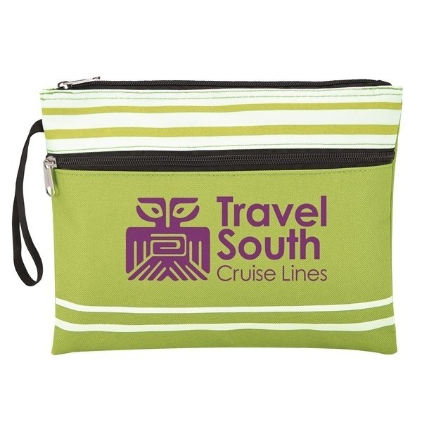Travel South Green Wet Swimsuit Bag