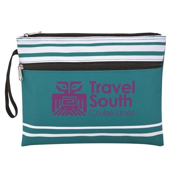 Travel South Teal Wet Swimsuit Bag