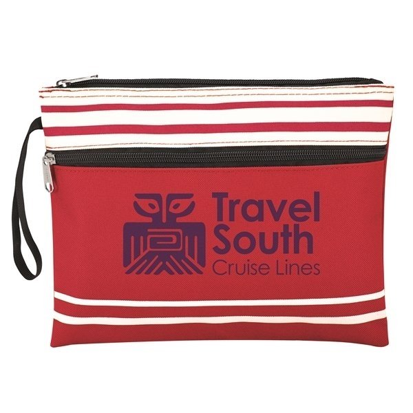 Travel South Red Wet Swimsuit Bag