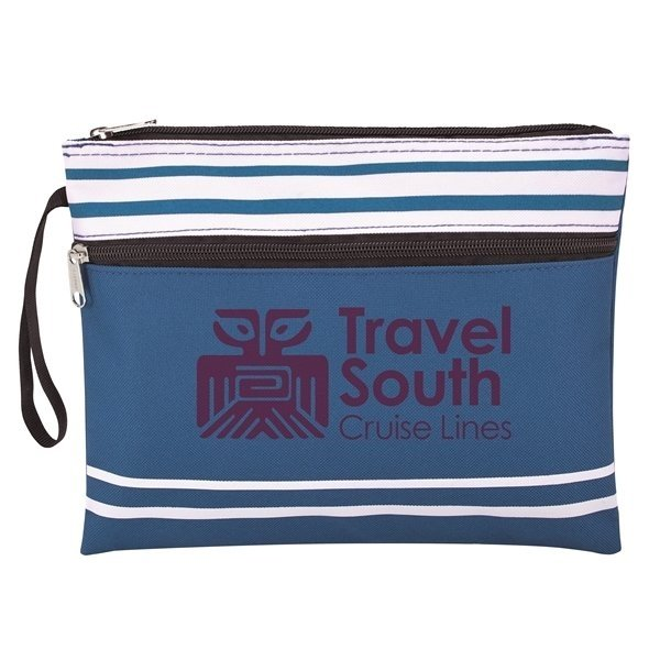 Travel South Blue Wet Swimsuit Bag