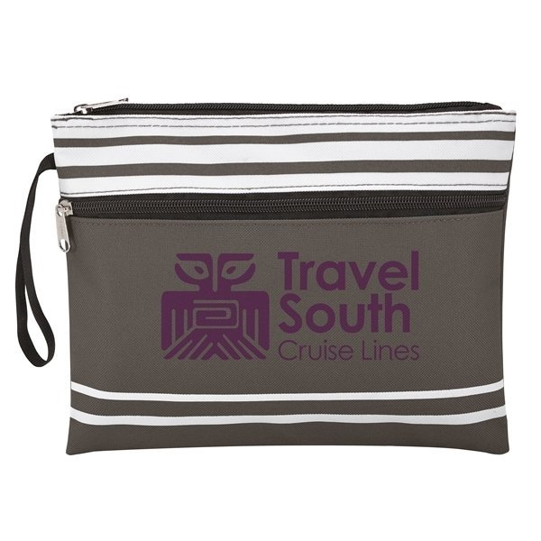 Travel South Grey Wet Swimsuit Bag