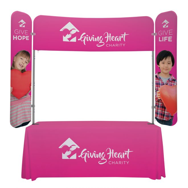 Giving Heart Trade Show Display Kit