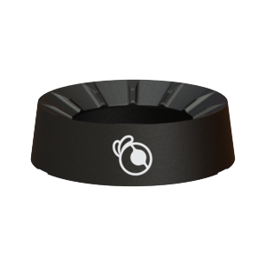 Black Barnacle Coaster