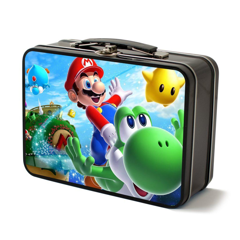 Black Mario lunchbox tech kit