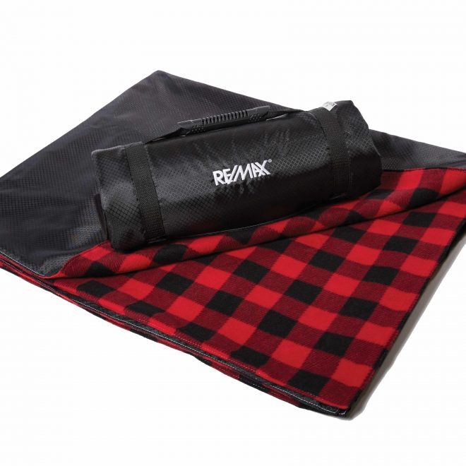 Explorer Picnic Blanket Black