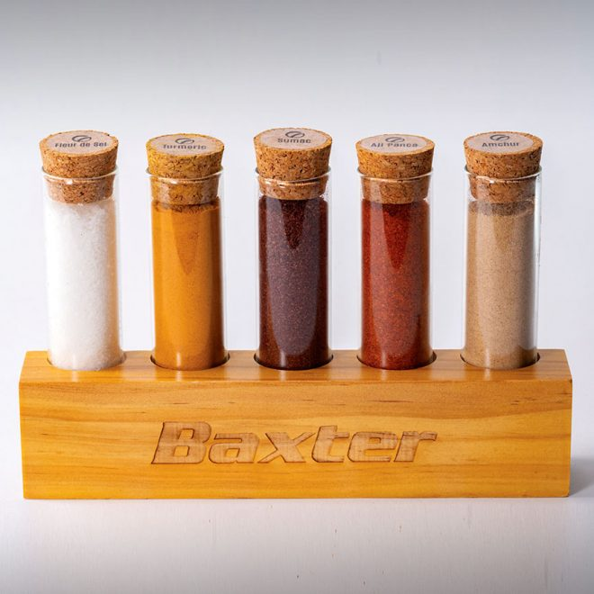 Spice Set Cork Square Baxter