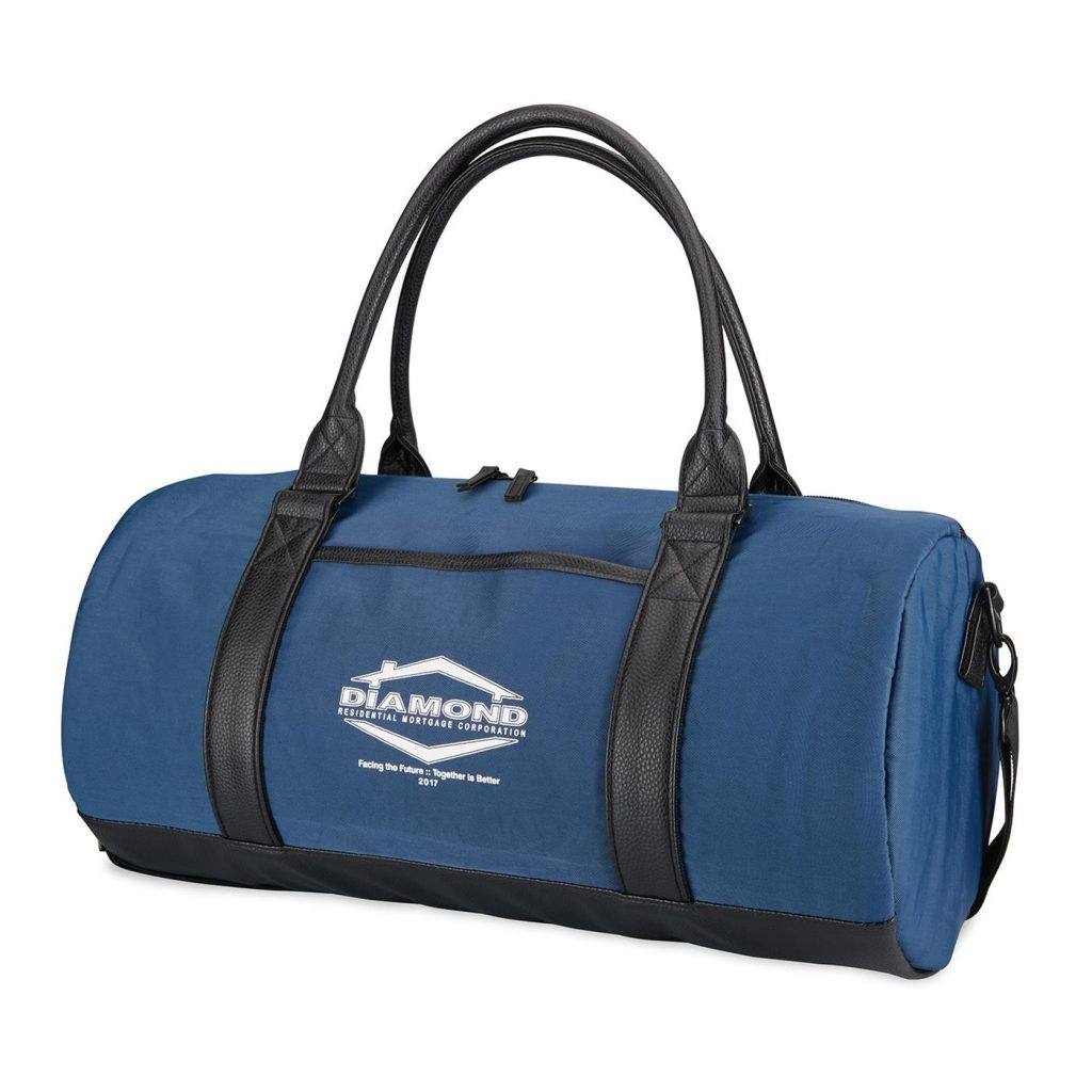 Fashion Duffel Cooler Front Blue