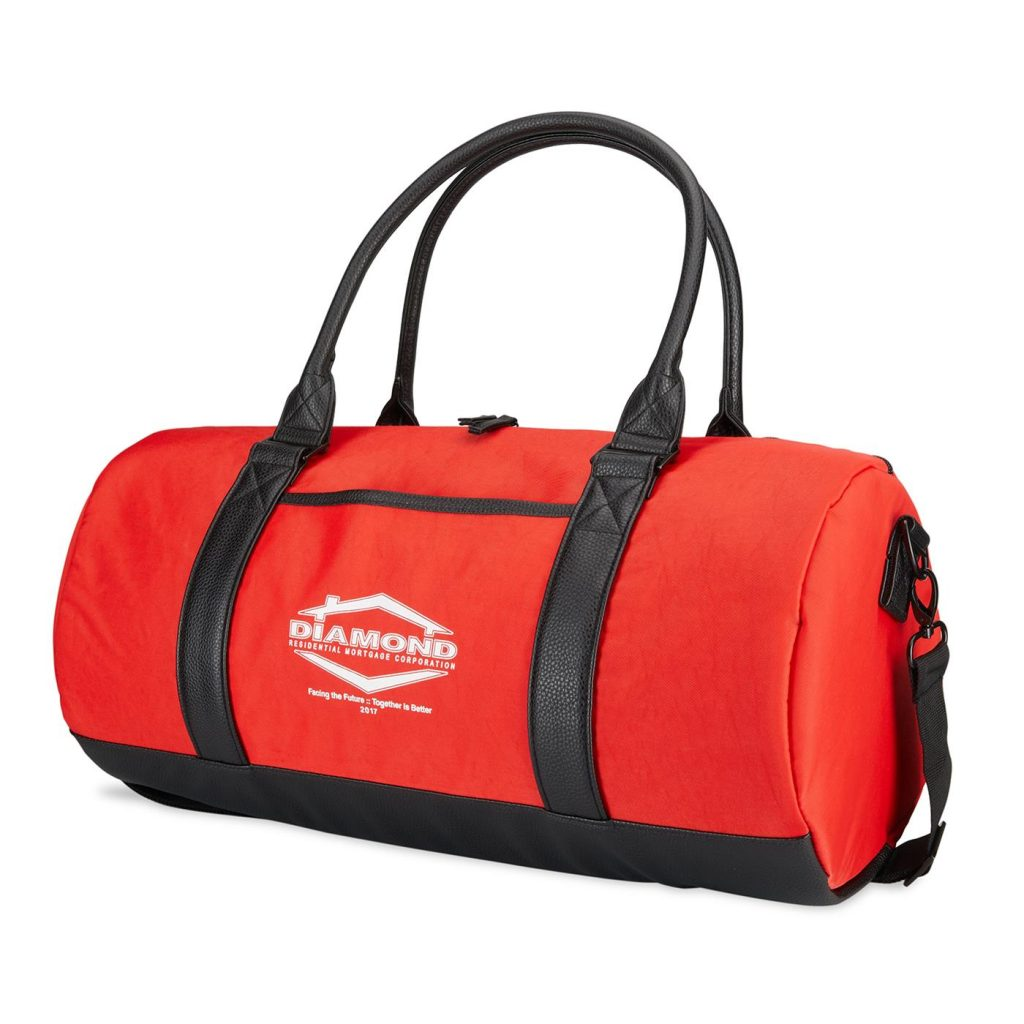 Fashion Duffel Cooler Front Red