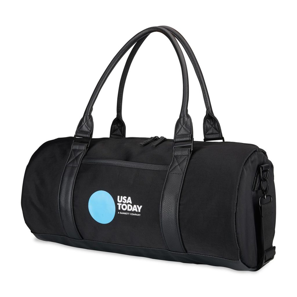 Fashion Duffel Cooler Front Black