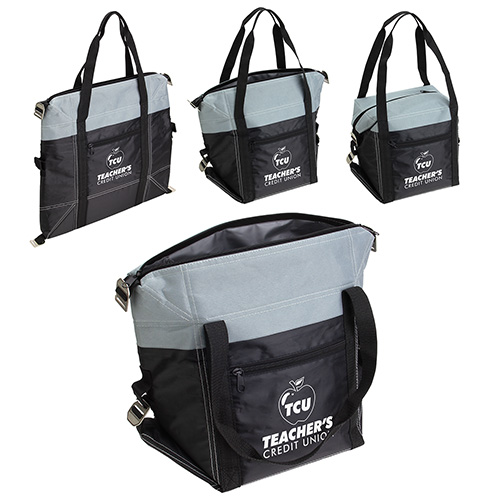 Convertible Cooler Bag Grey