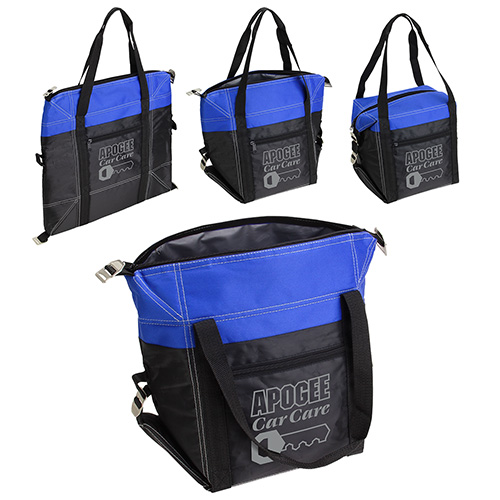 Convertible Cooler Bag Blue