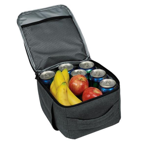 Premium Vertical Cooler Grey Open View