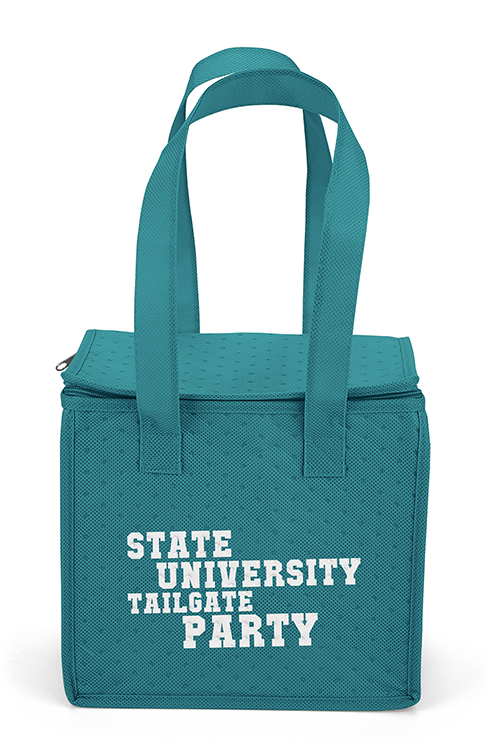 Thermo-O Cooler Tote Blue Front