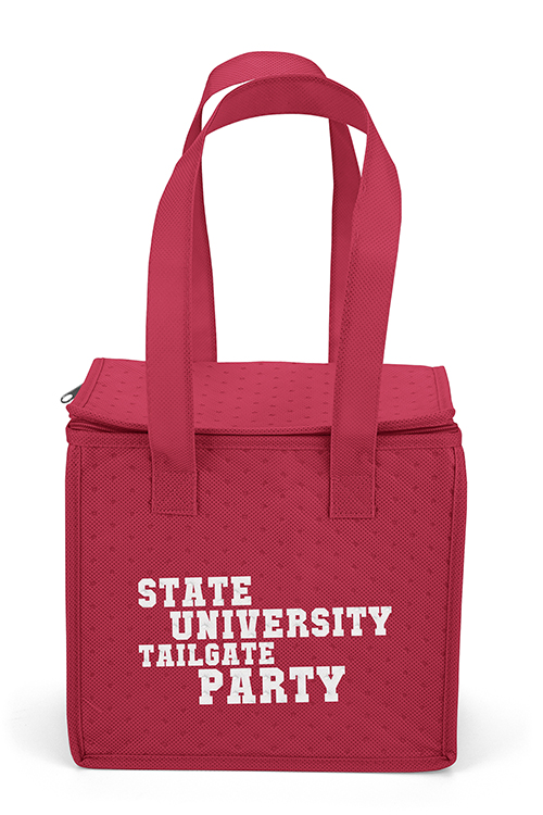 Thermo-O Cooler Tote Red Front