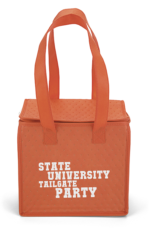 Thermo-O Cooler Tote Orange Front