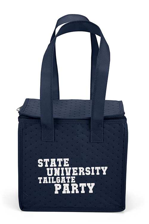 Thermo-O Cooler Tote Navy Front