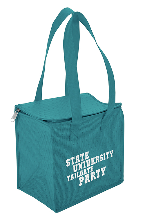 Thermo-O Cooler Tote Blue Side