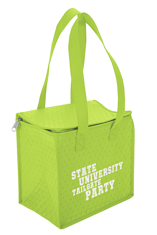 Thermo-O Cooler Tote Green Side