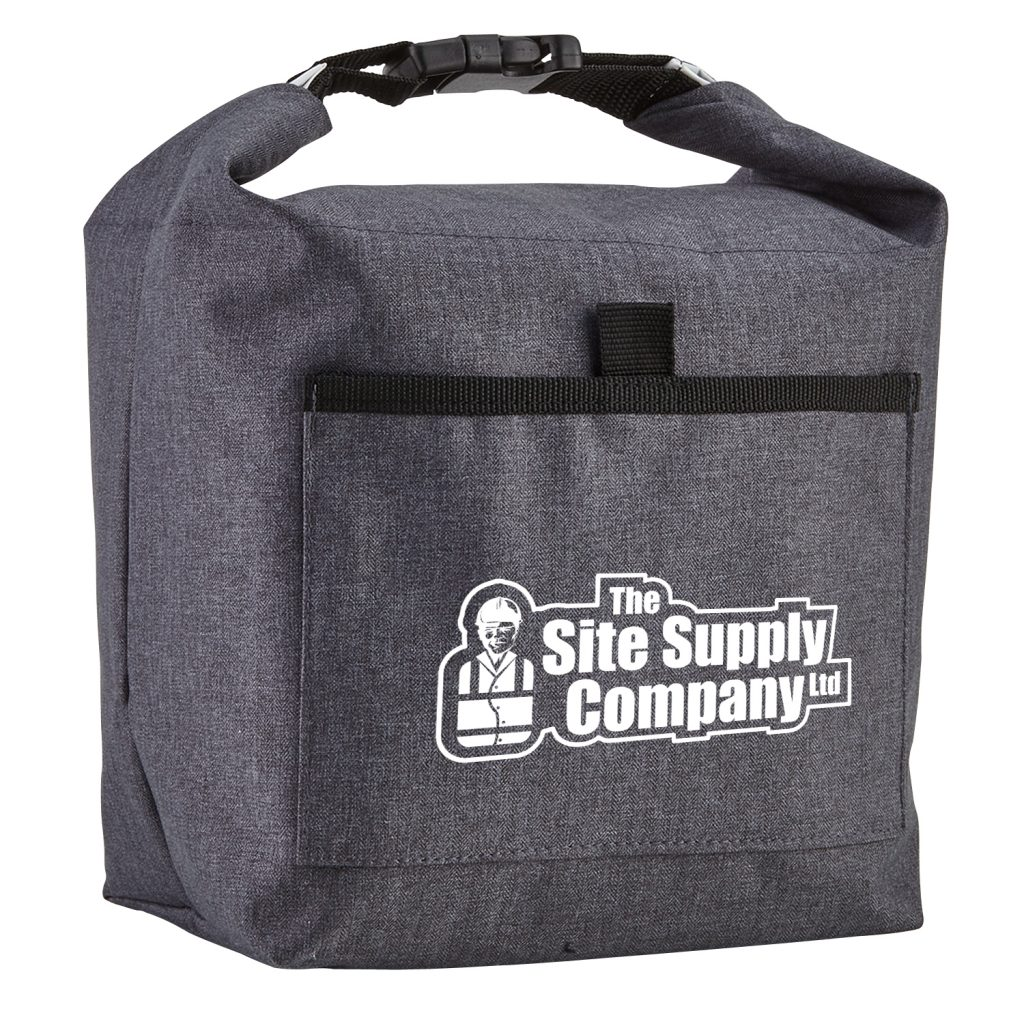 Roll-It Lunch Bag Black Angle