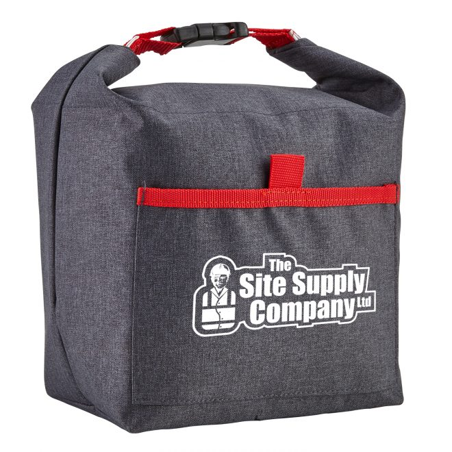Roll-It Lunch Bag Red Angle