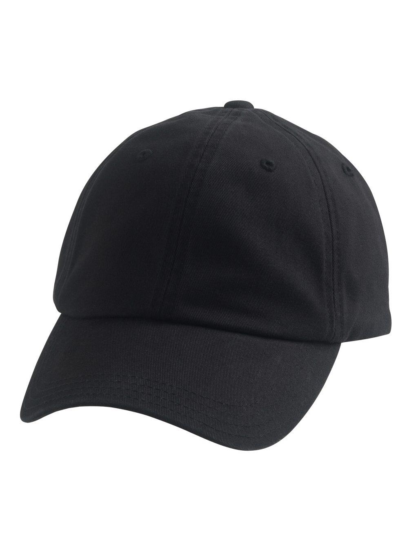 Dad Cap Front Black