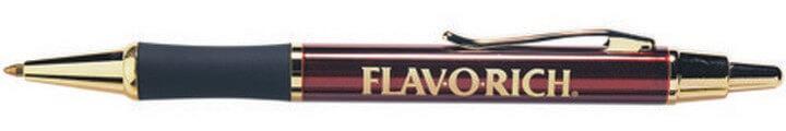 Monaco Classic Pen Burgundy/Black