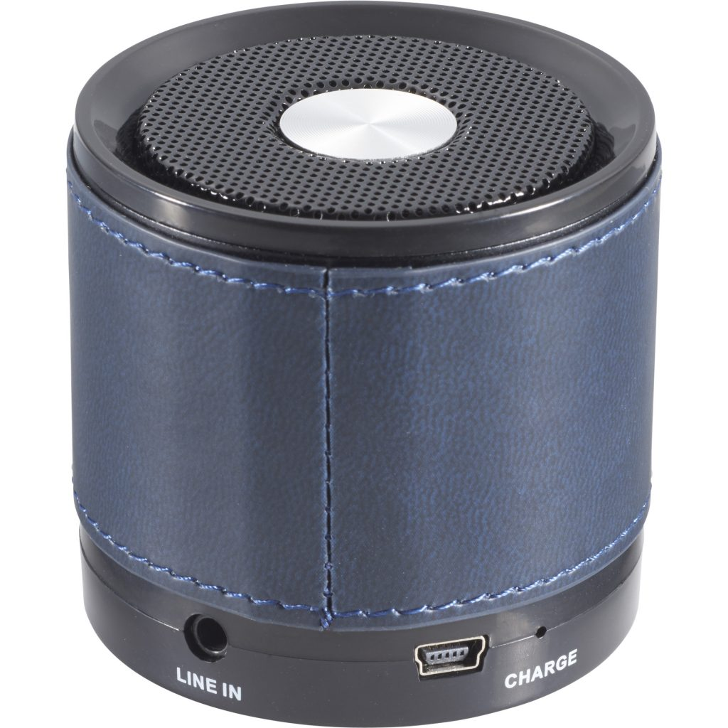 Bluetooth Blue Speaker with Wrap Back