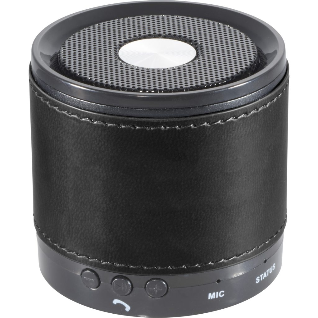 Bluetooth Speaker with Wrap Front Black