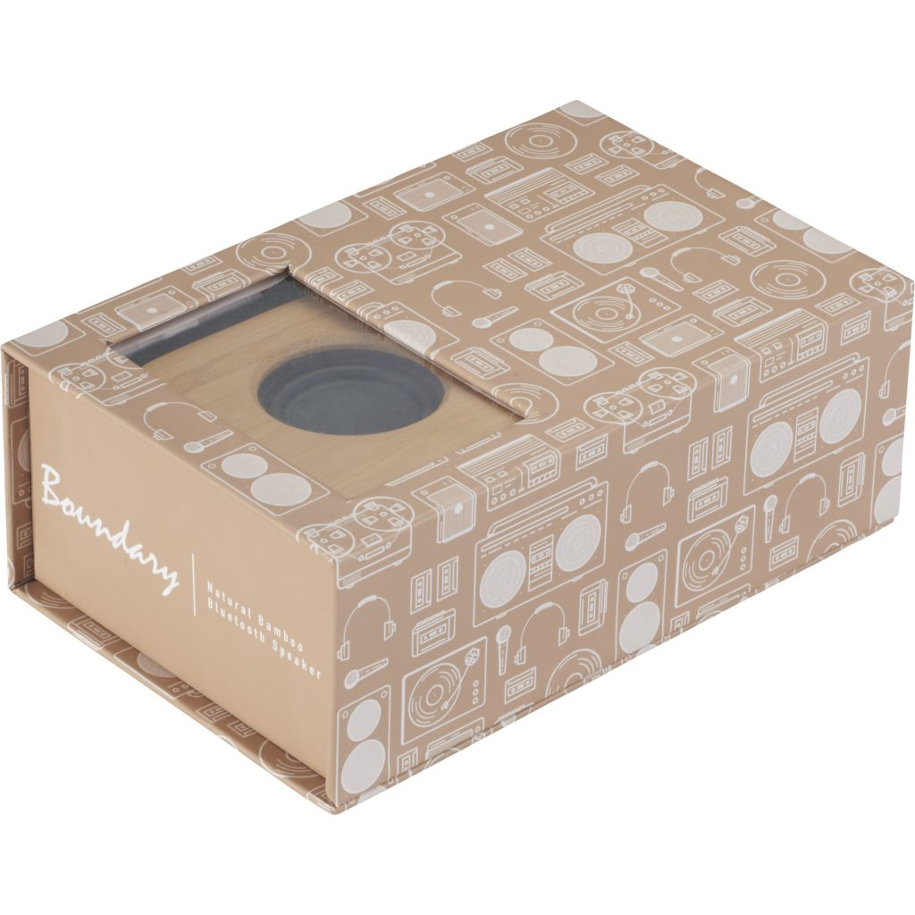 Bamboo Bluetooth Speaker Package